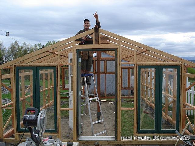 Greenhouse Covering Installing Polyethylene Film Or