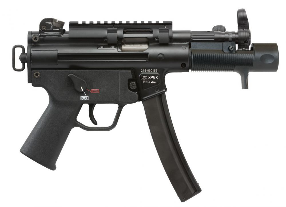 HK SP5K - An icon of a sub-machine gun