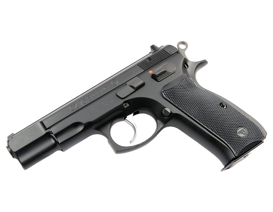 CZ 75 B - A great double stack 9mm pistol.