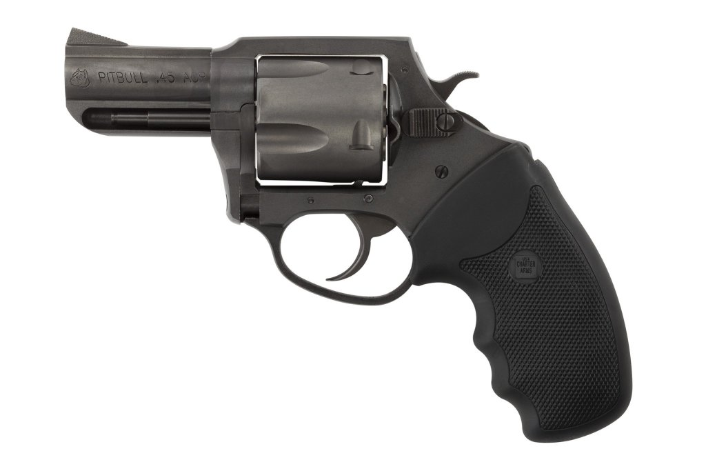 Charter Arms Pitbull 45 ACP, a concealed carry snubnose revolver