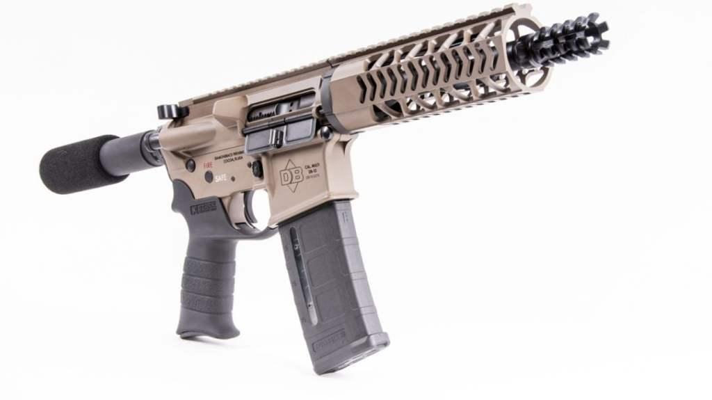 Diamondback Firearms DB15 Pistol. A budget AR-15 5.56 NATO pistol with a big reputation.