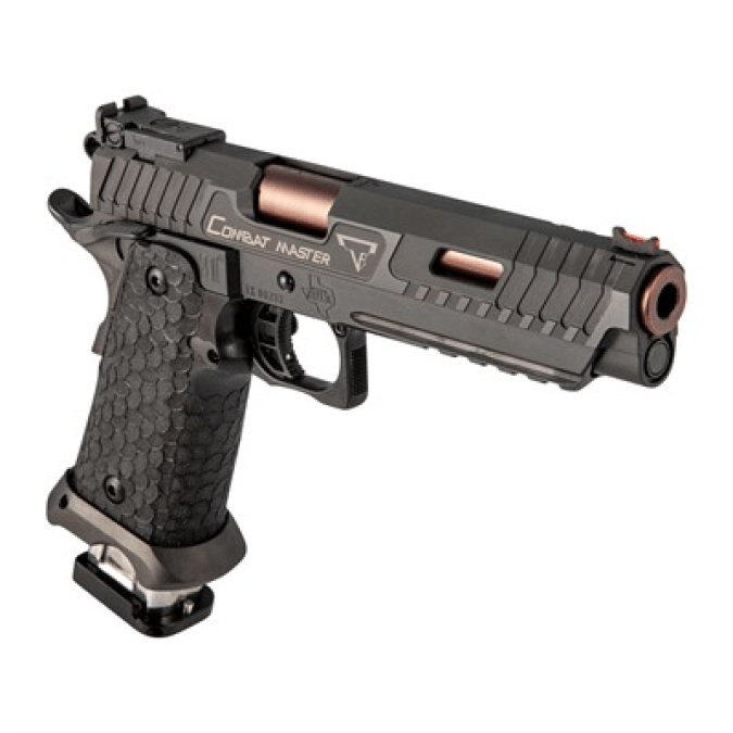 What gun does John Wick use in John Wick 3: Parabellum? The STI 2011 John Wick Combat Master Package for sale.