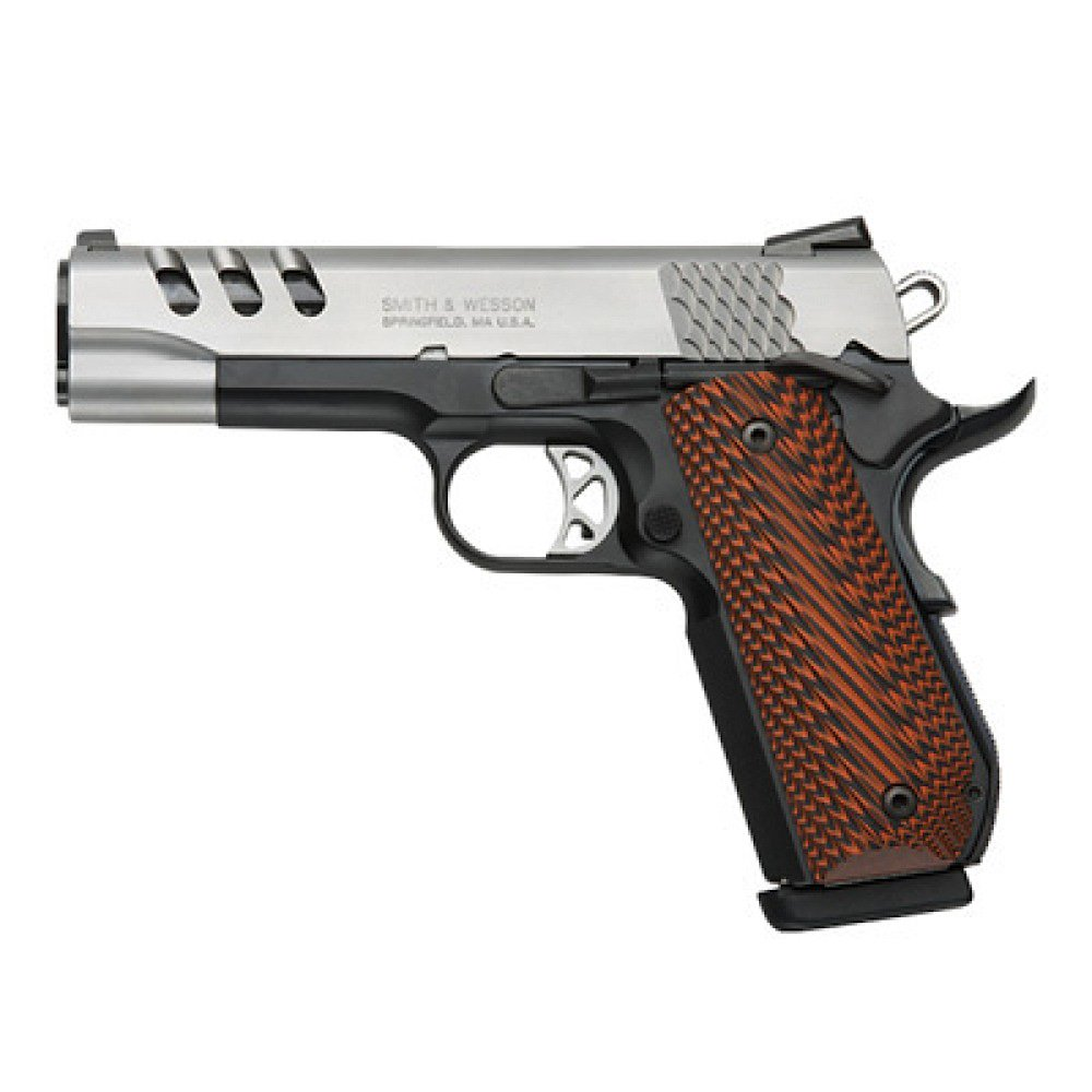 Smith & Wesson 1911 Performance Center. A great 45 ACP handgun for less than $2000.