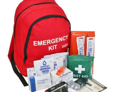 An Emergency kit could save you and your family in a natural disaster or a zombia apocalypse. Buy a bug out bag here.