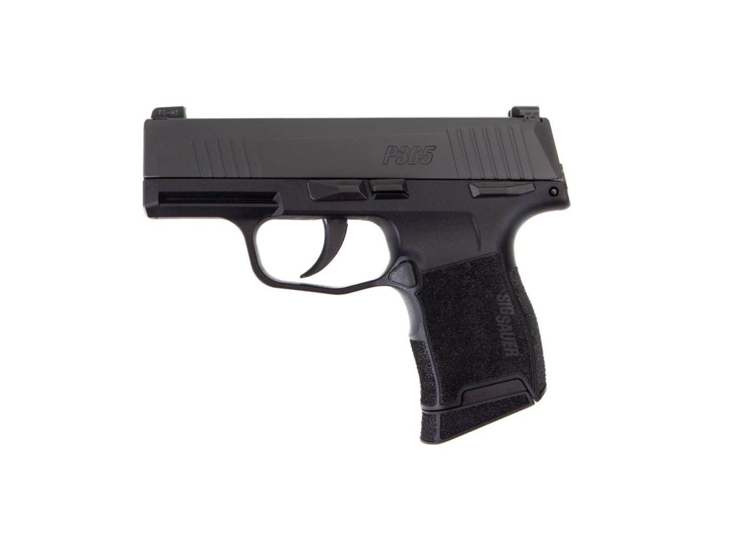 Sig P365 Nitron with manual safety for sale - just $499.99 at your favorite online gunbroker.