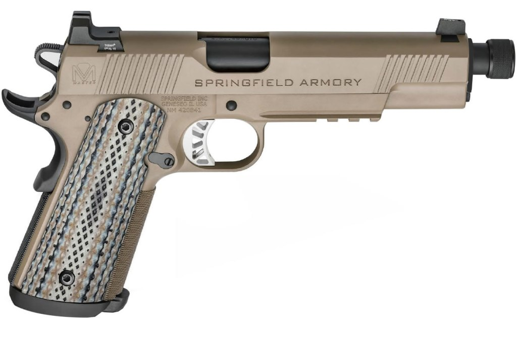 Springfield Armory Master Class Silent Operator for sale. Just $1,6599, a $500 discount, at the USA Gun Shop