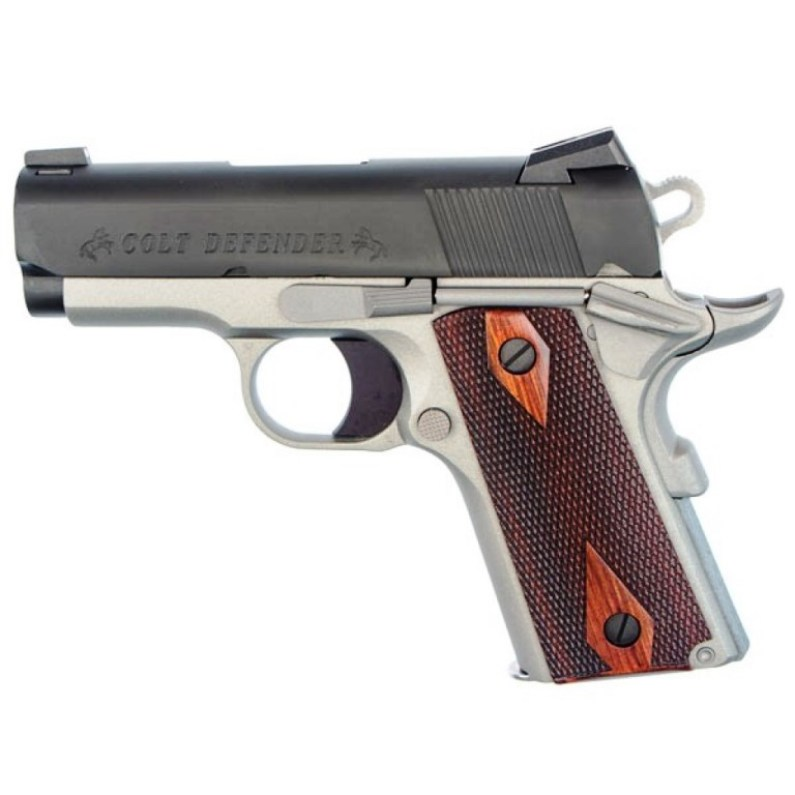 The Colt Defender. The best subcompact 1911 for concealed carry