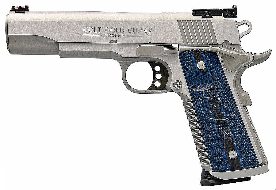 Colt Gold Cup 9mm - One of the best full sized pistols for sale in 2019. 9mm never looked quit this good.