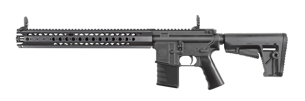 KRISS Defiance DMK22C. A real AR training platform in 22 LR. It's expensive, but it might be the best AR-15 style 22 rifle on the market.