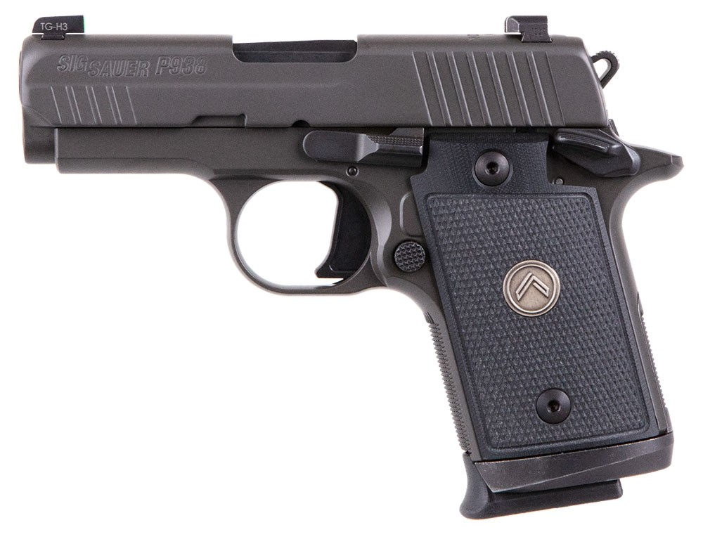 The icon, the Sig P938 Legion for sale. There is a P938 to suit every budget and taste, so buy your mico compact handgun online now.