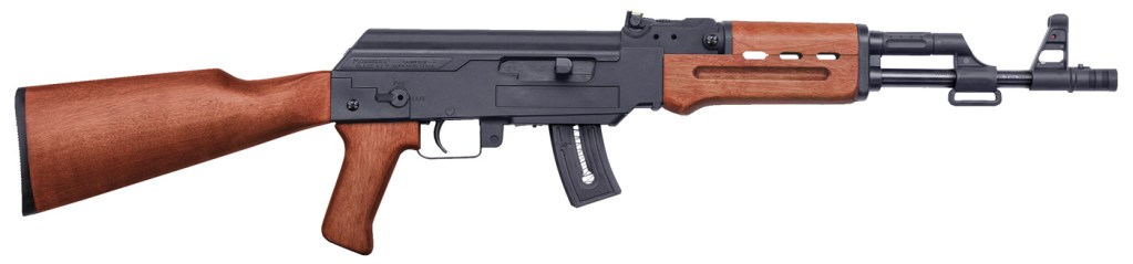 Mossberg Blaze 47 on sale. This AK-47 style 22LR rifle looks the business and is certainly a unique semi-auto.