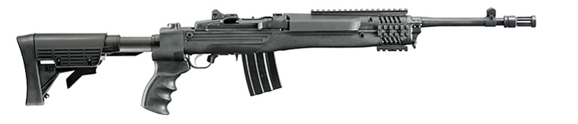 Ruger Mini-14 Tactical. It's a left-field AR-15 alternative if you want a different way to shoot your 5.56 NATO.