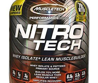 Muscletech Nitrotech Protein Powder Review