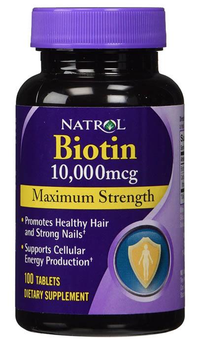 Natrol Biotin 10000 Mcg Maximum Strength Tablets