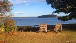 Bar Harbor in Maine mit Blick auf den Atlantik