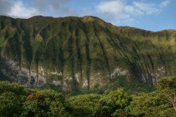 Die gewaltige Bergwelt von Hawaii, USA.