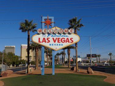 Das berühmte Las Vegas Zeichen.
