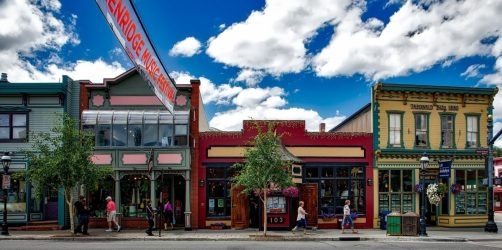 Die Mainstreet in Breckenridge