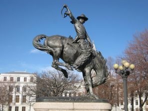 Cowboy Wahrzeichen von Denver, Colorado