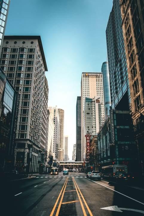 Die Straßen von Chicago