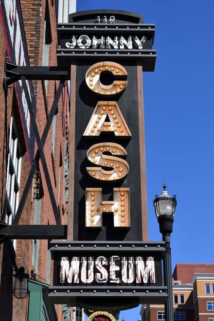 Das Johnny Cash Museum in Nashville, Tennessee