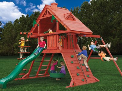 Dane's Den Swing Set