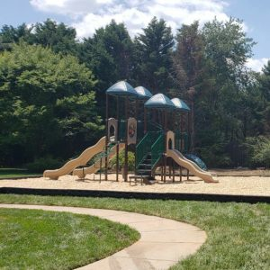 Cobblestone Playground