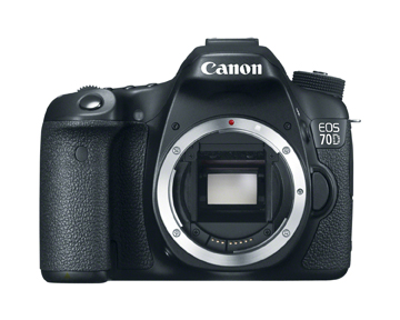Canon 70D EOS dslr new introduce