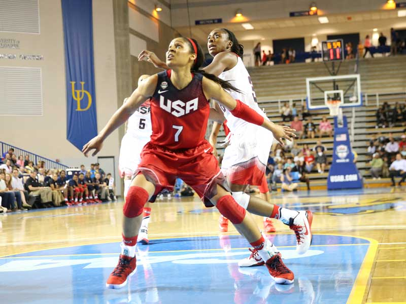 USA Basketball Women's National Team Roster Set For ...