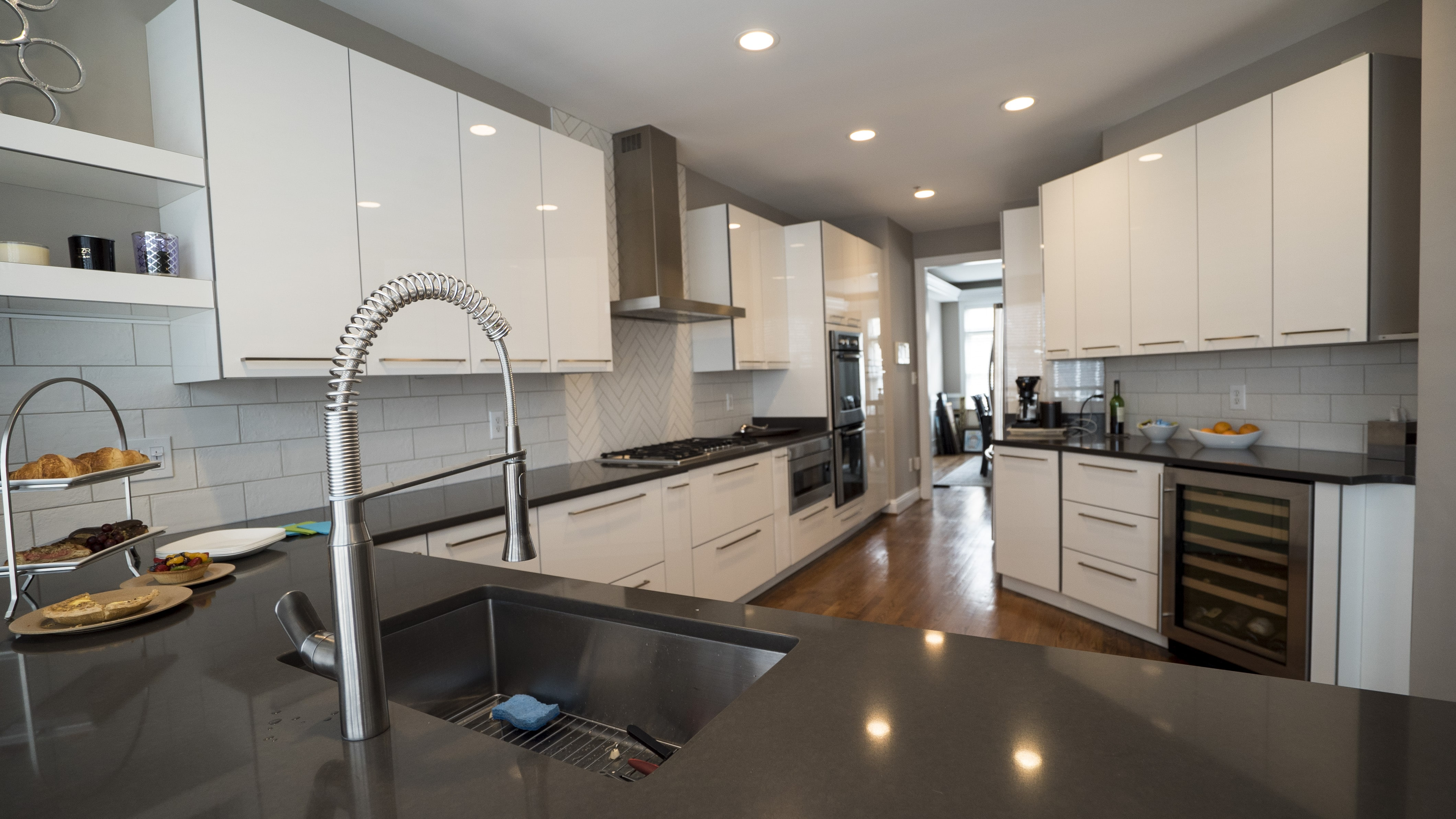 Kitchen Remodeling In Reston, VA. Jill Project Jill Came To USA Cabinet  Store ...