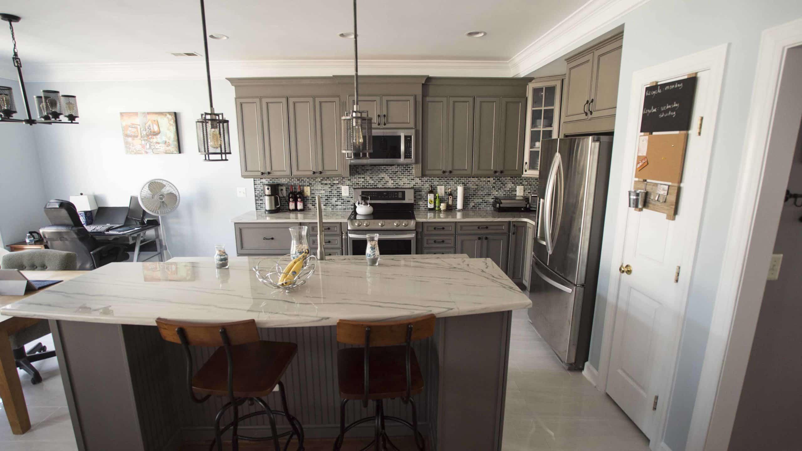 Gorgeous Kitchen Renovation In Potomac Maryland: Kitchen Remodeling Gaithersburg Md