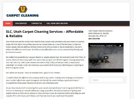 carpet cleaning salt lake city ut