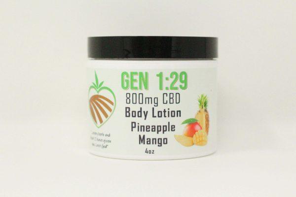 Pineapple mango body cream