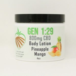 Pineapple mango body cream