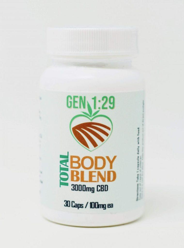 CBD total body capsules