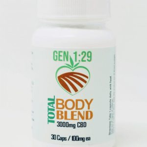 CBD total body capsules