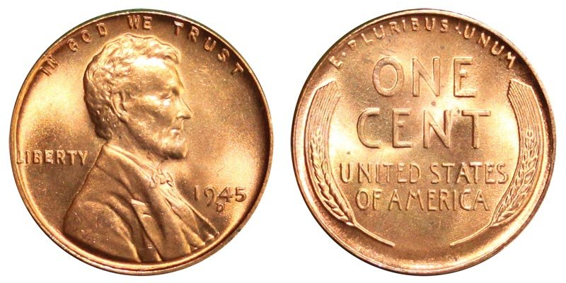 1944 D Wheat Leaf Penny   Jidileaf co