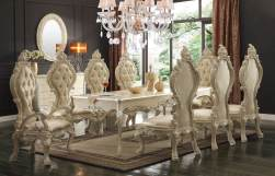 9 Piece Homey Design HD-13012 Dining Set