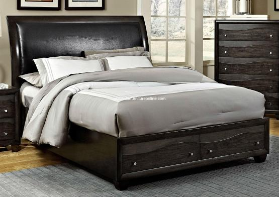 Homelegance Redondo 2 Piece Bed and Nightstand