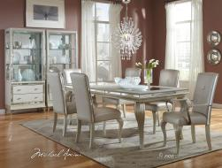 Hollywood Loft Frost Dining Set