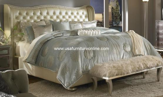 Hollywood Swank Creamy Pearl Bed