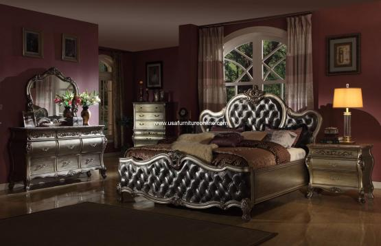 Bordeaux Platinum Bedroom Set
