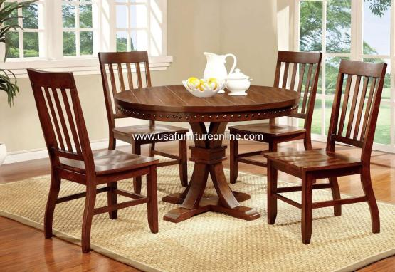 5 Piece Foster I Round Dining Set