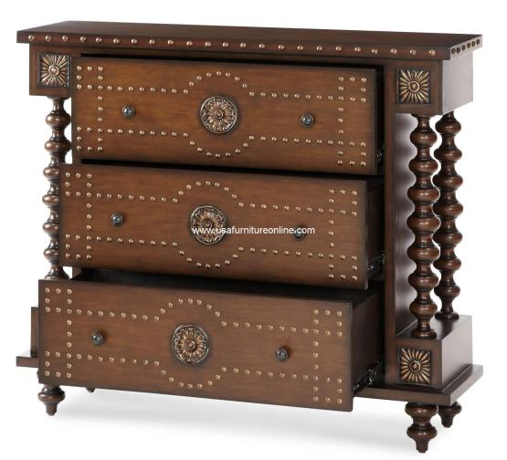 3 Drawer Accent Chest AICO