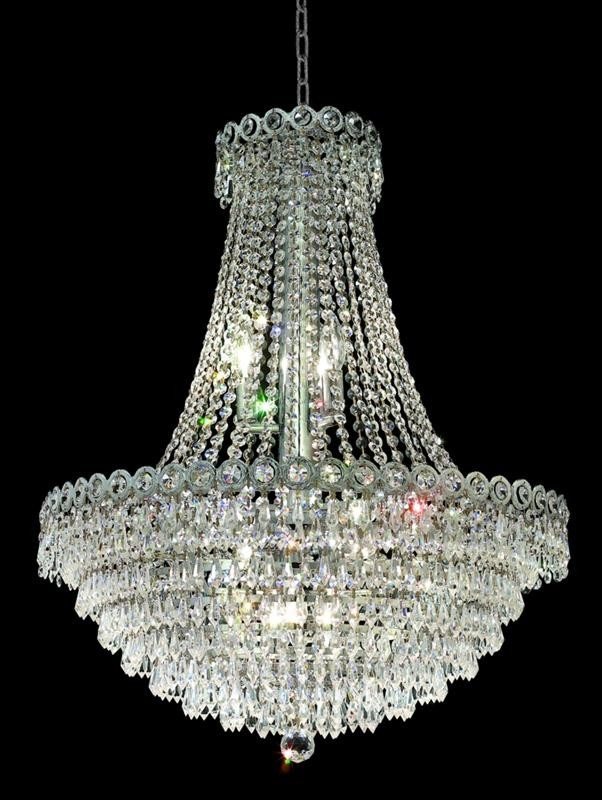 12 Lights 24 Chandelier 1902 Century Collection