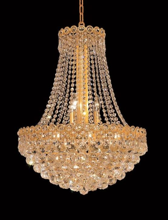 12 Lights Chandelier 1901 Century Collection