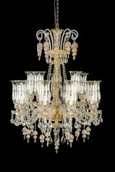 15 Light Garnier Chandelier Clear Glass