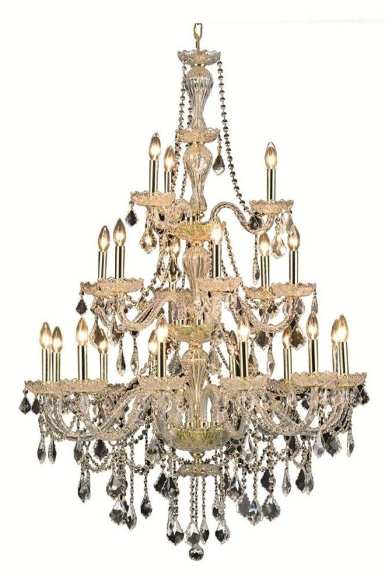 21 Lights Chandelier 7890 Giselle Collection