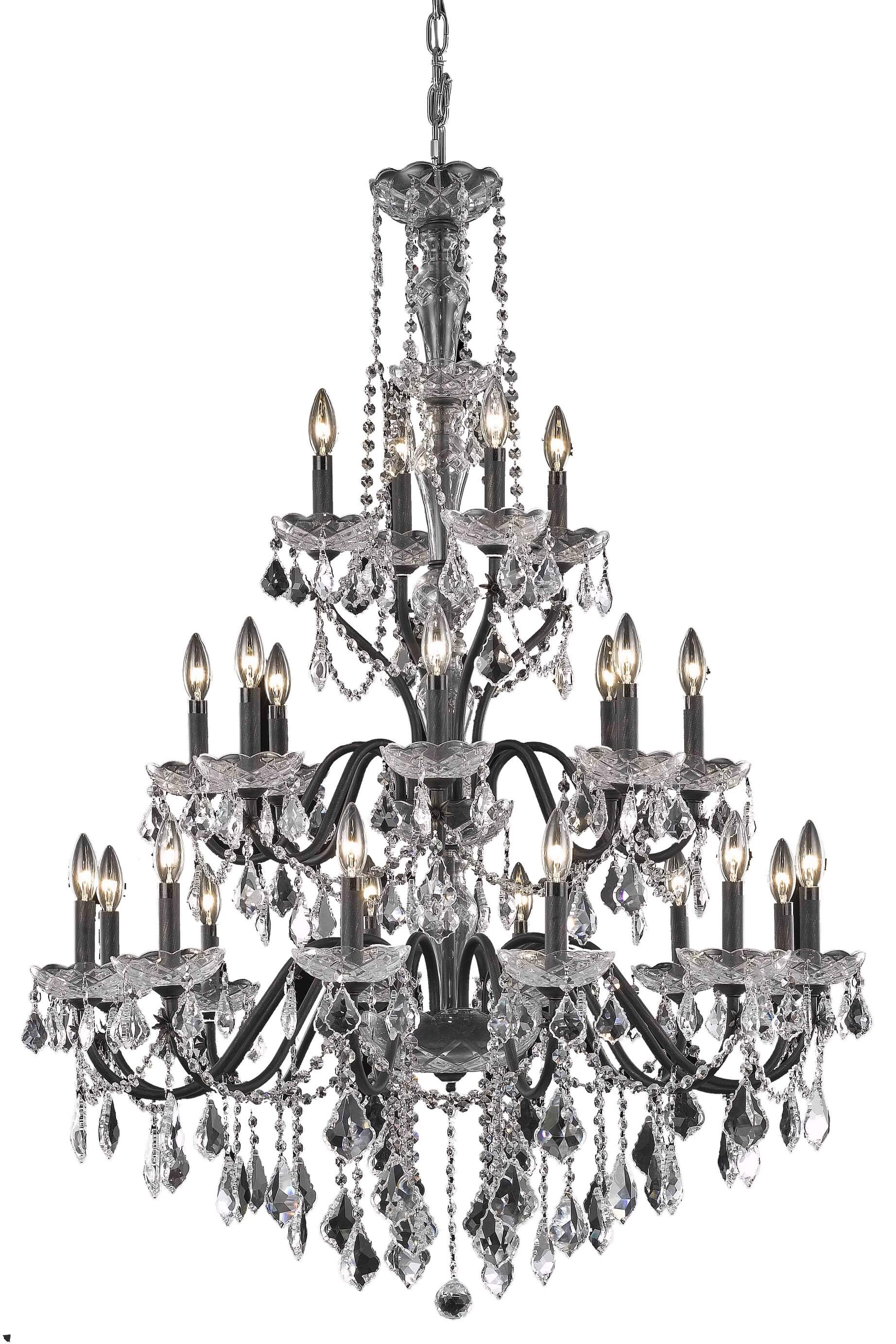 24 Lights Chandelier St Francis Collection By