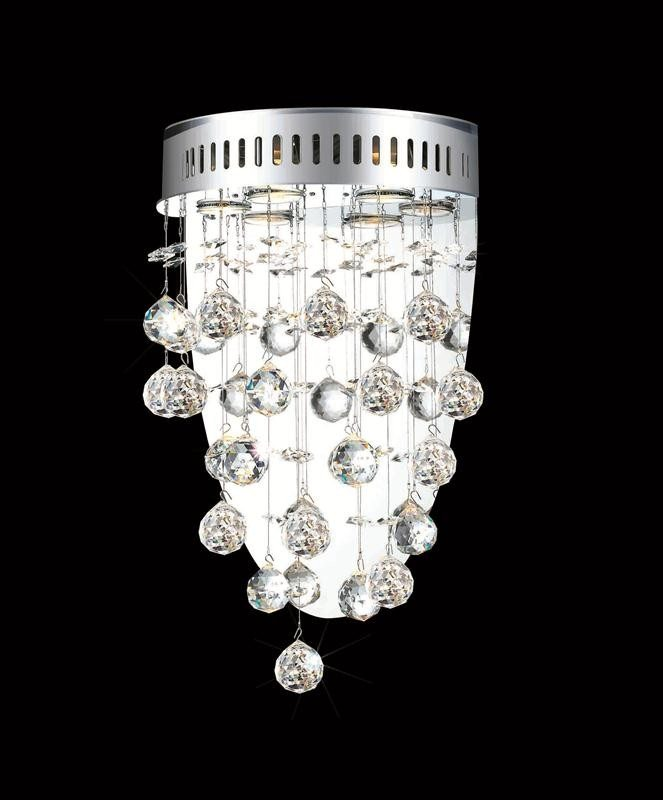 3 Lights Wall Sconce Chandelier 2006 Galaxy Collection